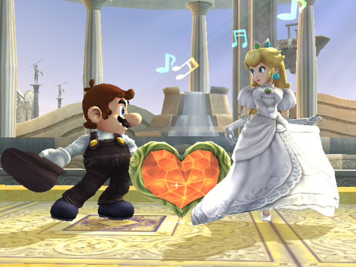 Mario and Princess Peach Wedding