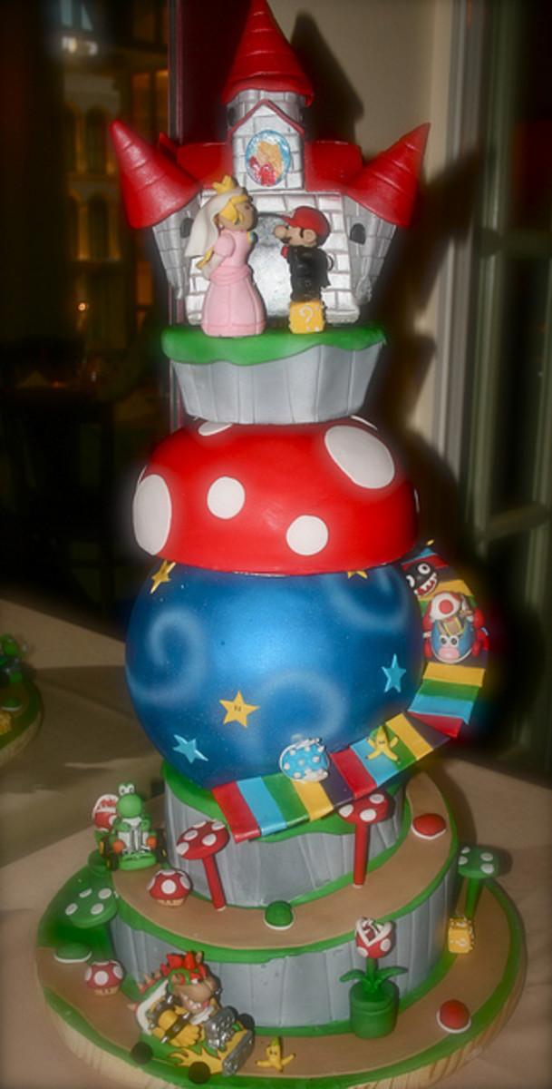 Mario Wedding Cakes