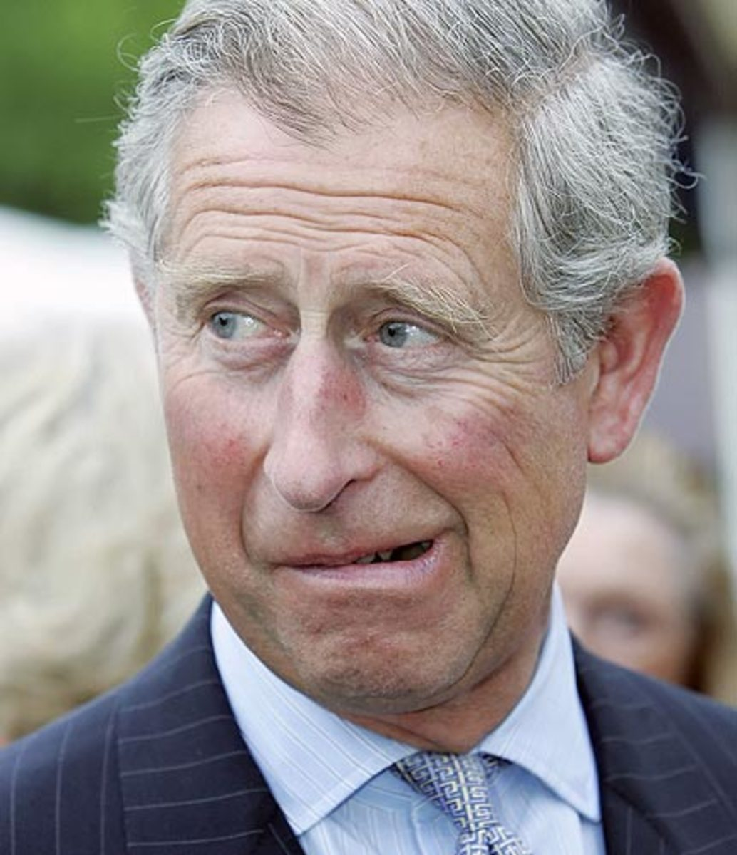 Prince Charles photographed on his 60th birthday