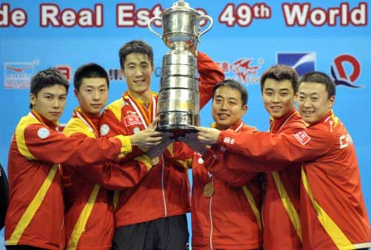 2008 Mens team champions - Ping Pong and Table Tennis Difference, History, Fun Facts