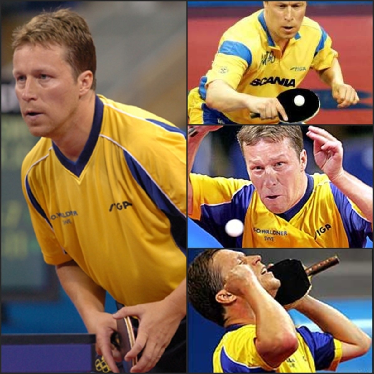 """Jan-Ove Waldner of Sweden is known as """"the Mozart of table tennis"""" and is a legend in his native Sweden as well as in China, where he is known as - """"Old Wal"""" - undeniably the greatest table tennis player of all time."""
