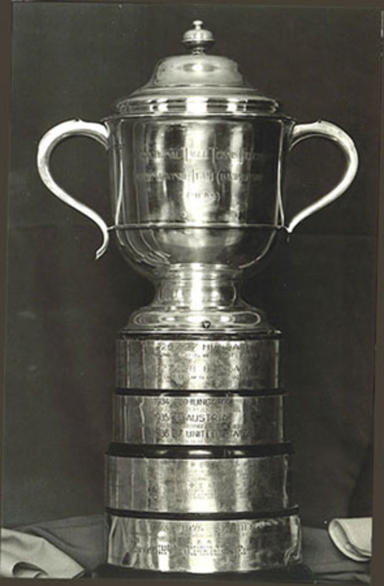 Swaythling Cup: for Men's Team, donated in 1926 by Lady Baroness Swaythling. source: Wikipedia - Ping Pong and Table Tennis Difference, History, Fun Facts