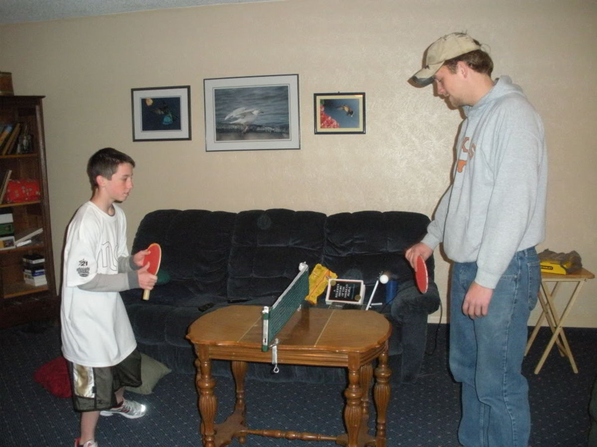 improving ping pong, photo By sylviacoulson, source: Photobucket - Ping Pong and Table Tennis Difference, History, Fun Facts
