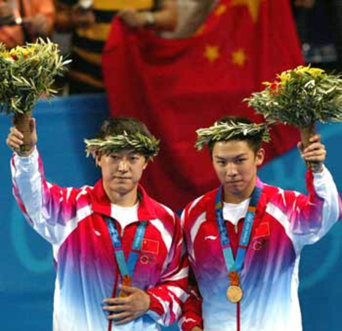 2004 Athens Olympic mens doubles champions -Ping Pong and Table Tennis Difference, History, Fun Facts