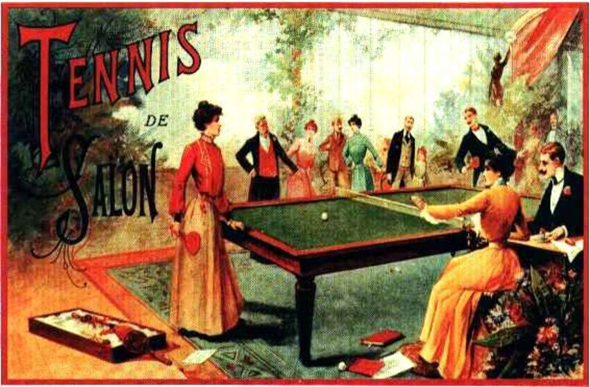 1891 John Jaques & Son of Hatton Garden, London, England registered Gossima. from Gurney Collection, Ping Pong and Table Tennis Difference, History, Fun Facts
