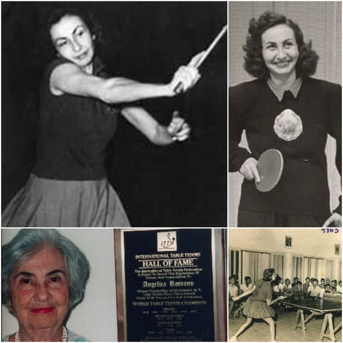 Angelica Rozeanu-Adelstein of Romania - 18 titles as Romanian National Champion, Total of 40 medals in various Romanian championships