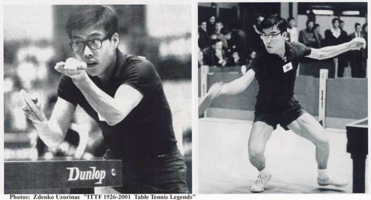 Shigeo Itoh of Japan, world champion 1969 - Ping Pong and Table Tennis Difference, History, Fun Facts