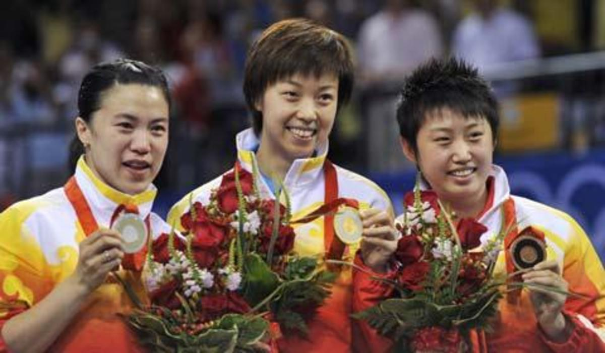 2008, Olympic Womens Gold, Silver and Bronze - Ping Pong and Table Tennis Difference, History, Fun Facts