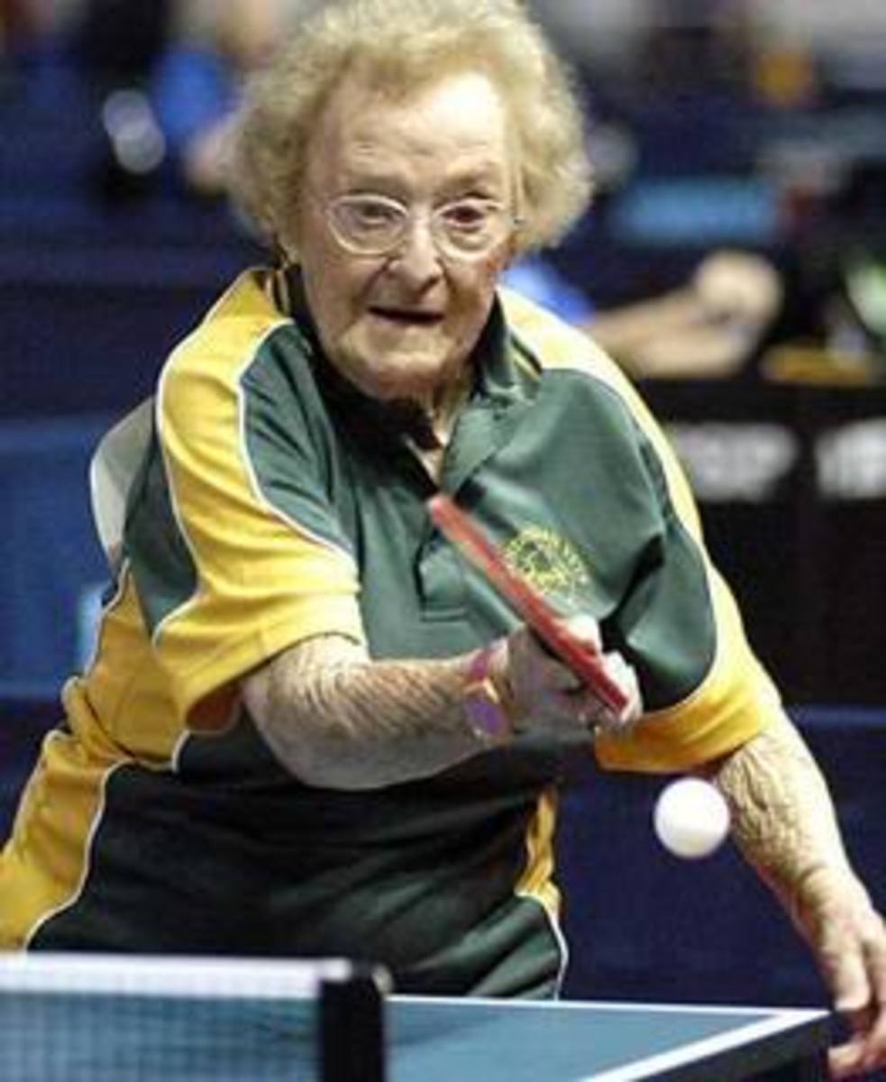 gramma pingpong, photo By bmckee247, source: Photobucket - Ping Pong and Table Tennis Difference, History, Fun Facts