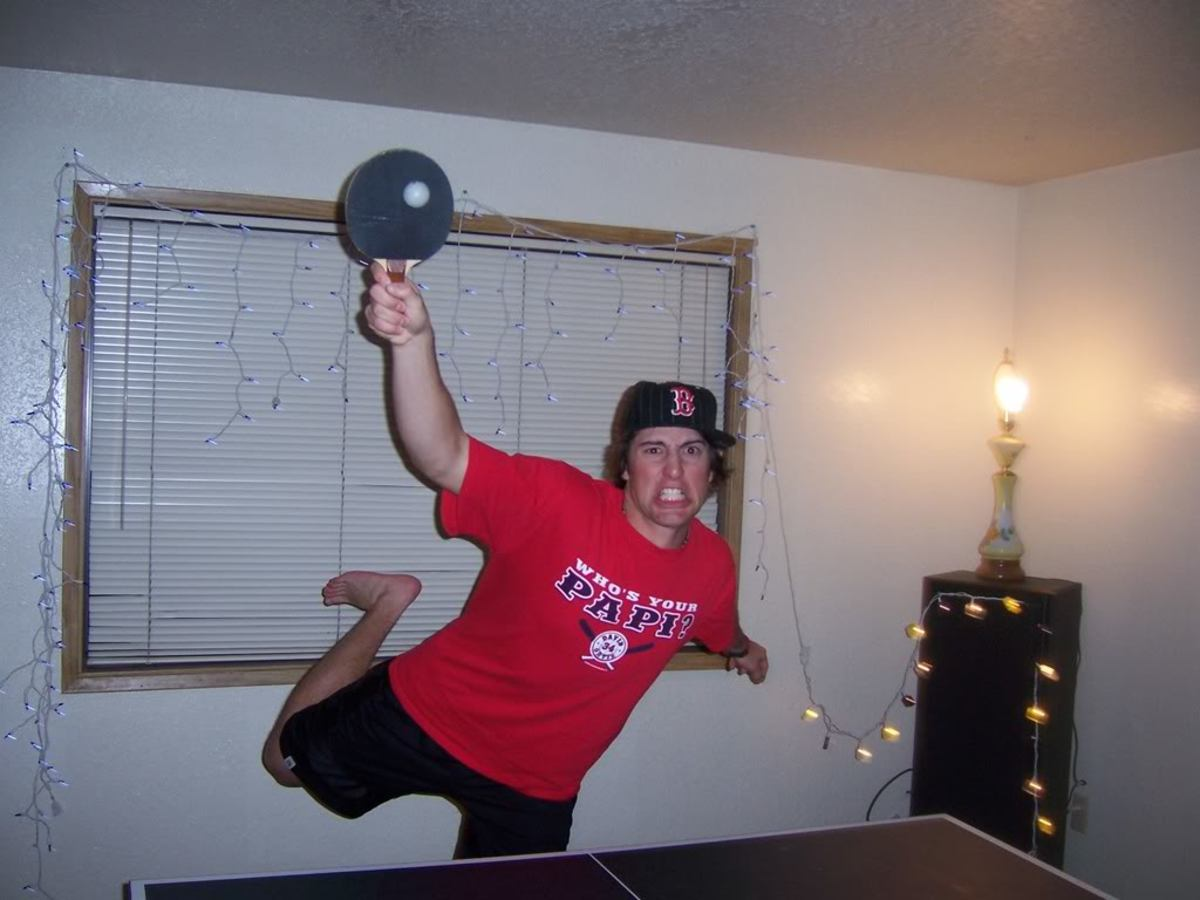 Great smash! - difference between men and women playing ping pong, photo By cococrisp5, source: Photobucket