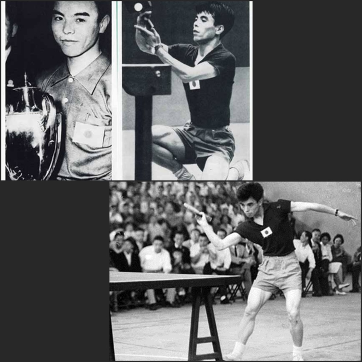 1954, Ichiro Ogimura of Japan is the epitome of Japanese dominance -  Ping Pong and Table Tennis Difference, History, Fun Facts