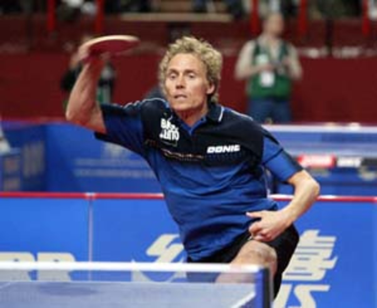 Jorgen Persson of Sweden,  1991 World Champion -  Ping Pong and Table Tennis Difference, History, Fun Facts