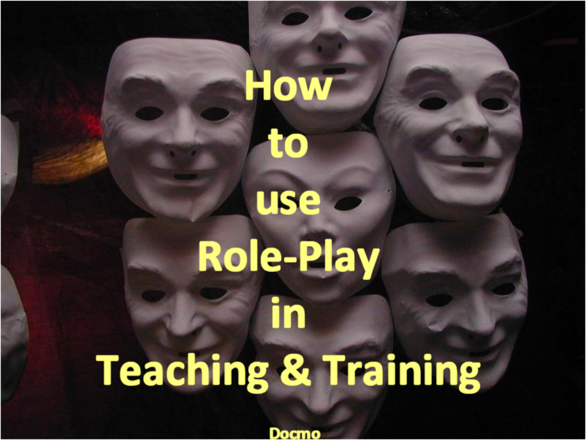How to use Role-Play in Teaching and Training | hubpages