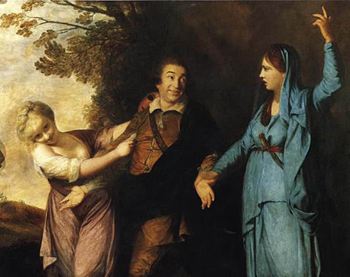 Garrick- between comedy and tragedy- Joshua Reynolds