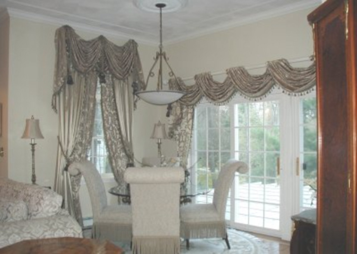 Home Remodeling Improvement Ideas - Drapery for French Doors and Windows