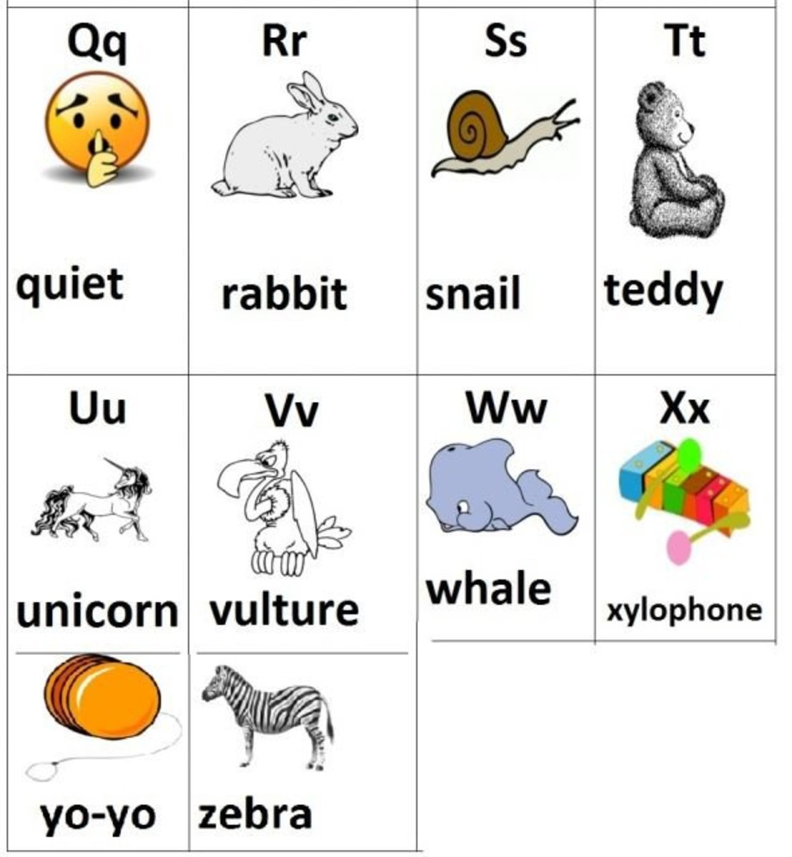 Animal-alphabet-flashcards-free