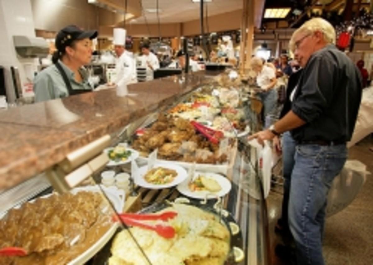 Wegmans Market Cafe- Dine in or Dine out