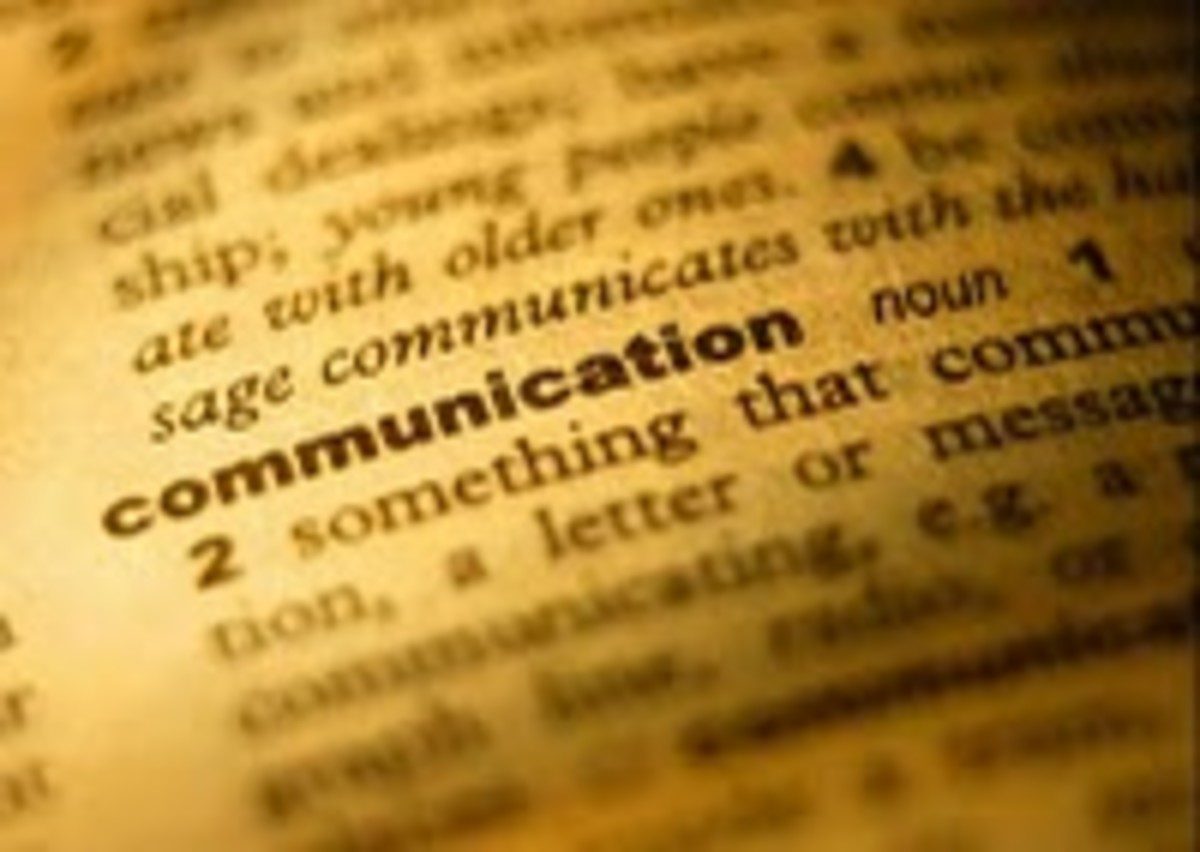 Communication: but versus and