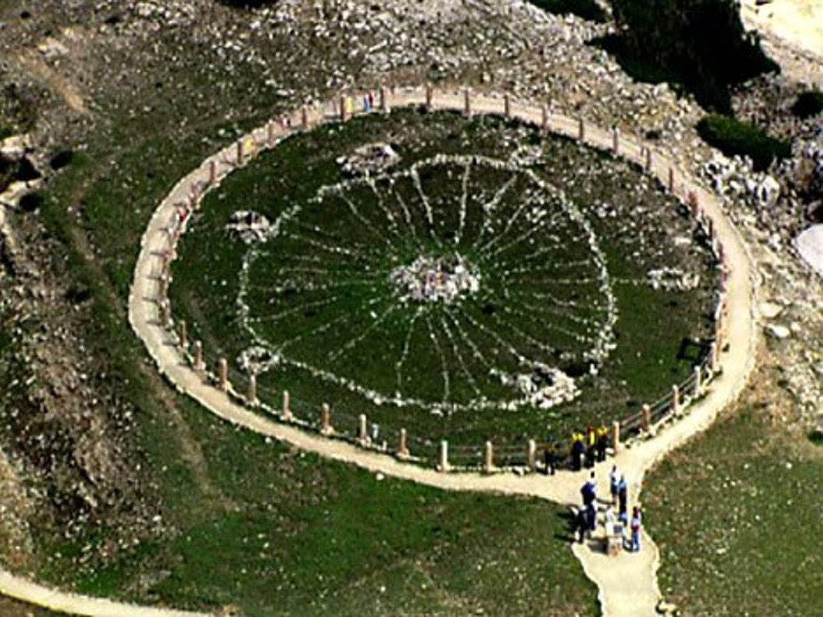 Constructing a Medicine Wheel