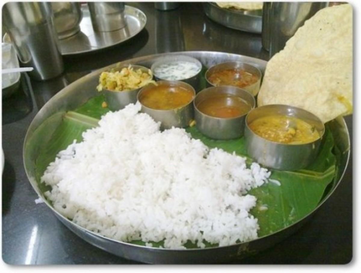Tamil Meals (Sappadu)