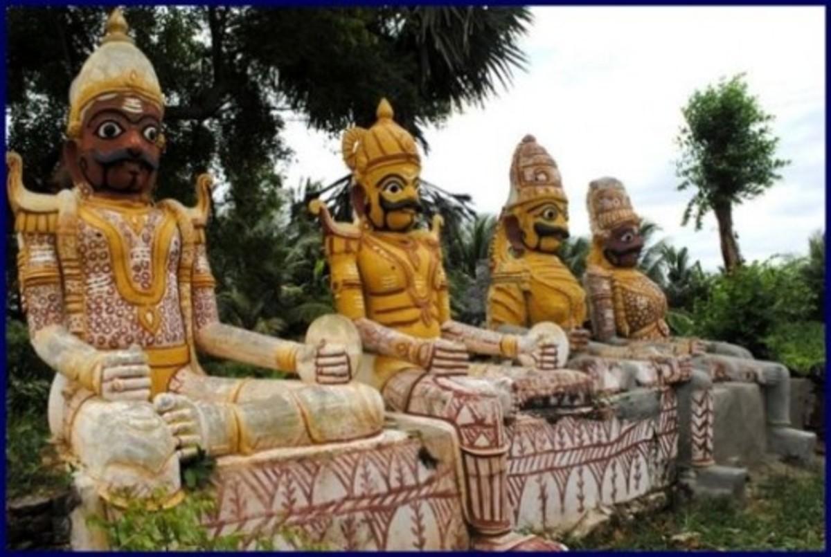 Village Deities. Edapadi Village