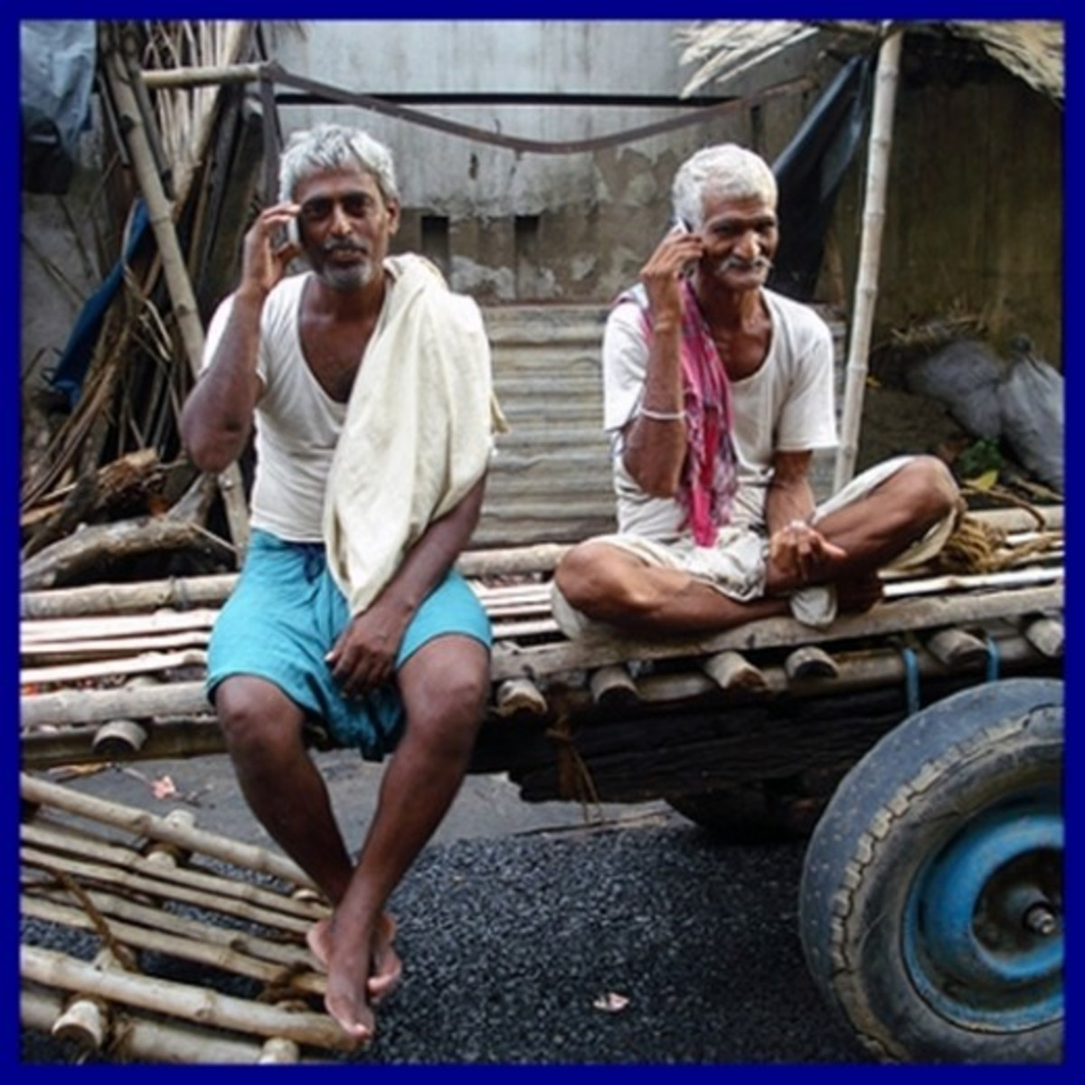 Cell Phone Usage By Villagers