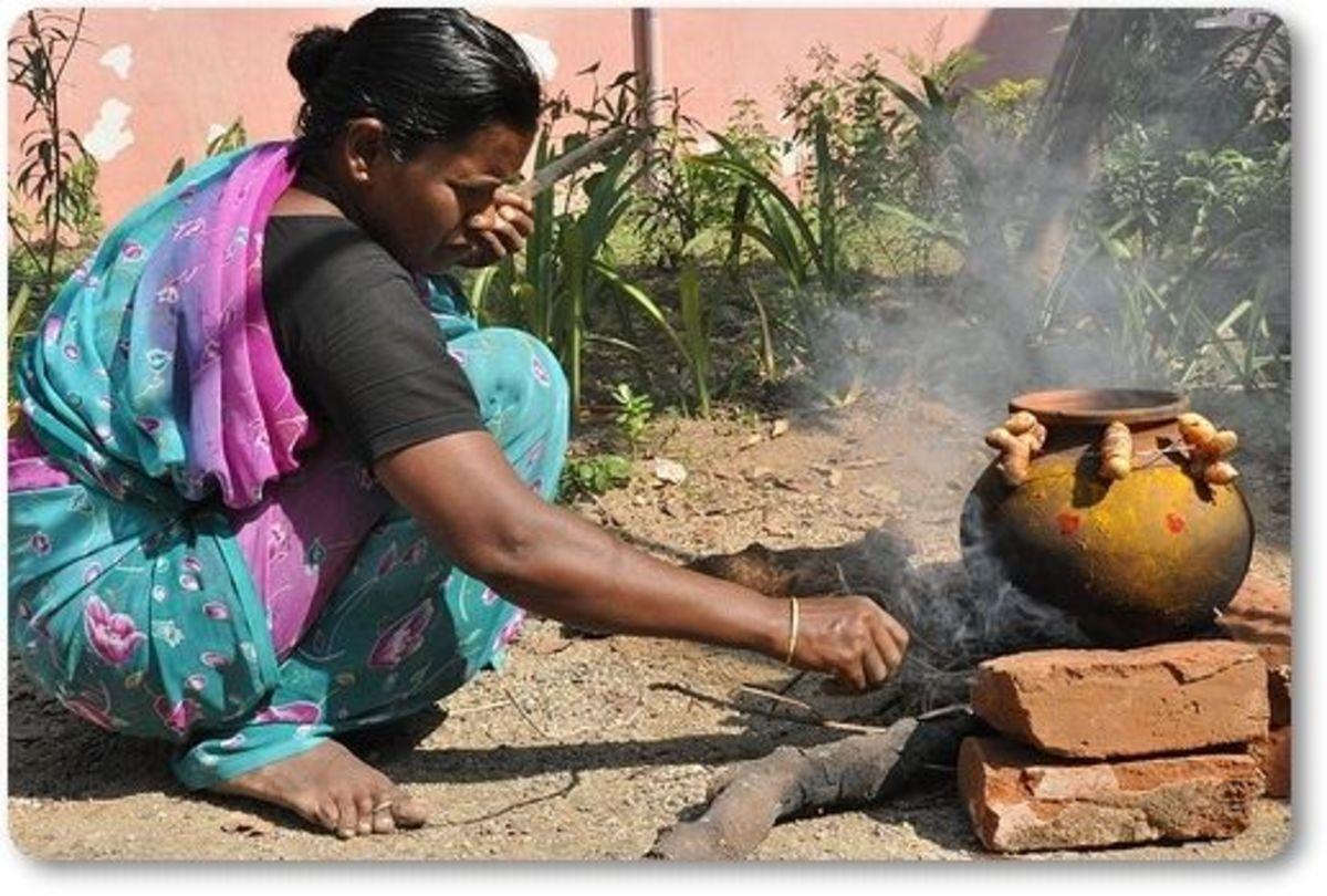 Traditional Pongal At Velankanni