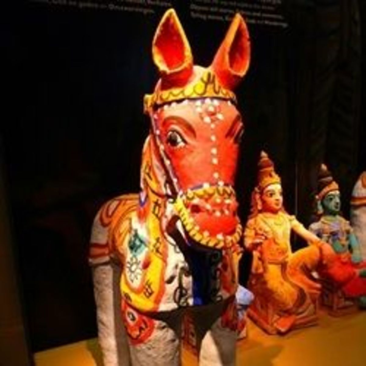 Village Life: Ayyanar Horse