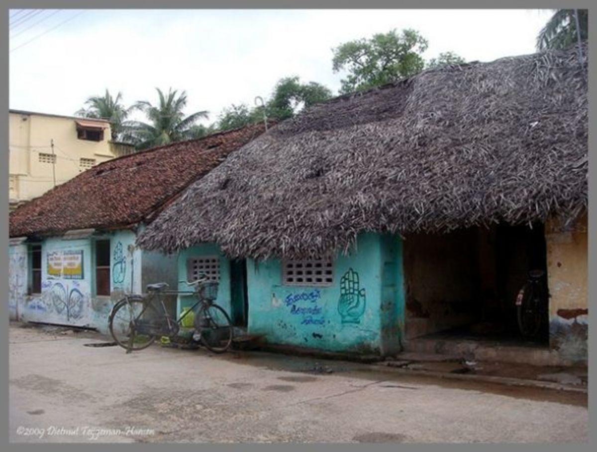 A Street In a Village