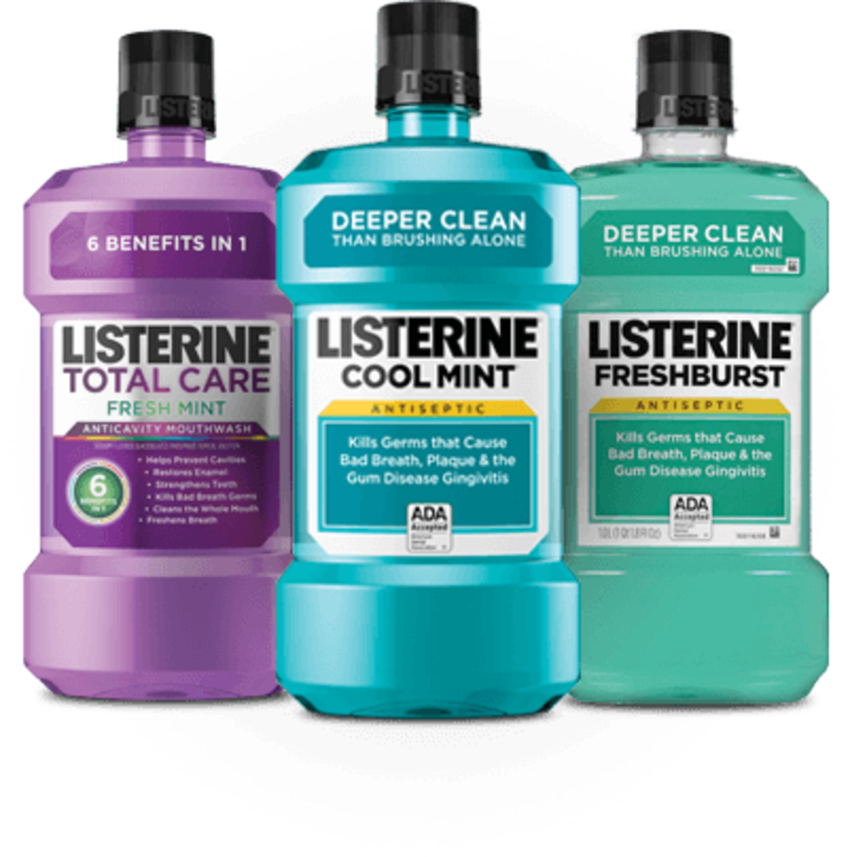 Listerine is used for more than freshening breath.