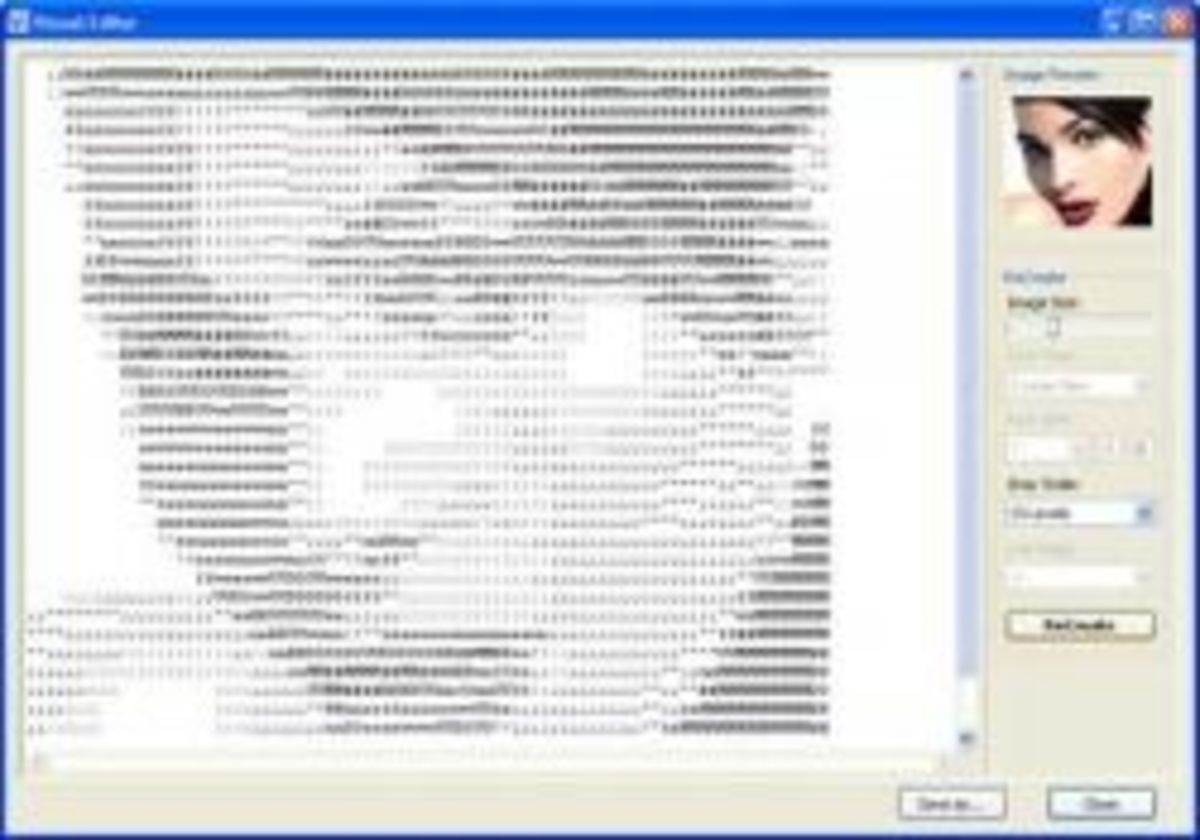 How I Make these ASCII Pictures (drawing using slashes, letters, or numbers)