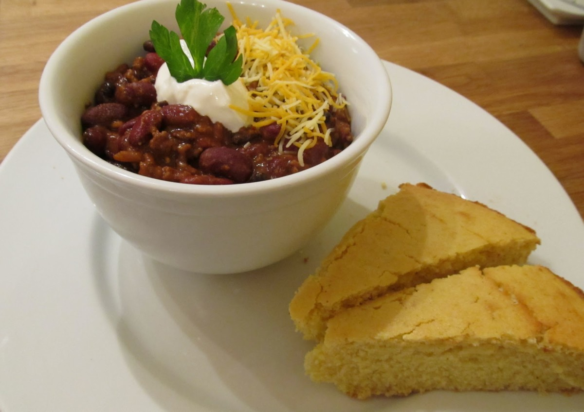 Chili Con Carne was one of my favorite foods as a child and I've been working on making the perfect chili con carne recipe for the last thirty years. In case you don't know Chili Con Carne means chili with meat.