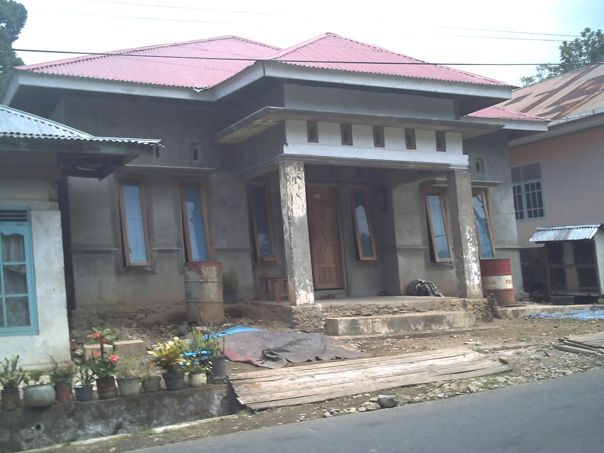 A house in Kumango Selatan