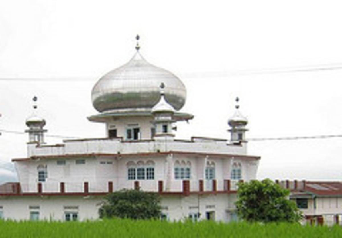 Mesjid Amarullah, the mosque situated in Kumango Utara.