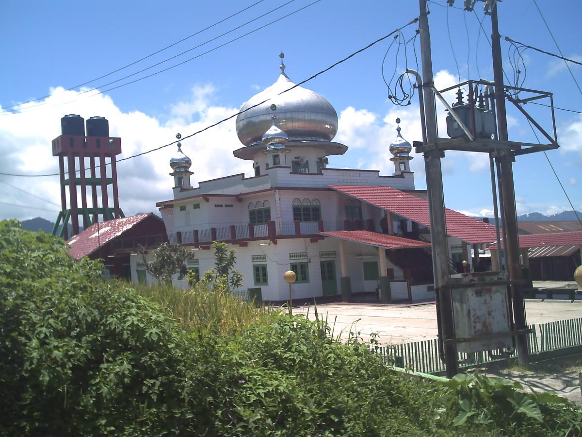 Masjid Amarullah Kumango - the mosque situated in Northern Kumango