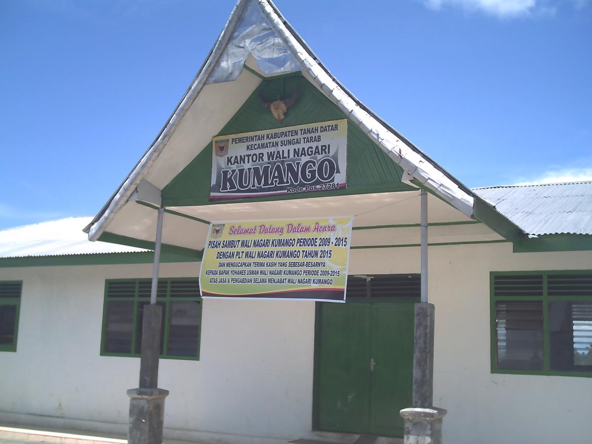 The office of the Chief of Nagari Kumango in Luka Panjang