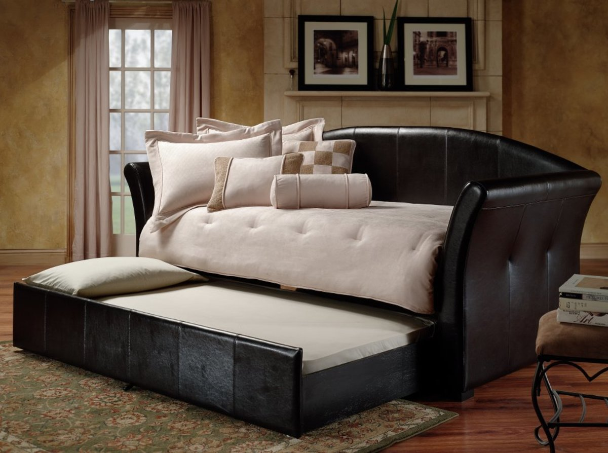 Daybed frame option with trundle bed Daybed Frame Option - Spare Bedroom Ideas