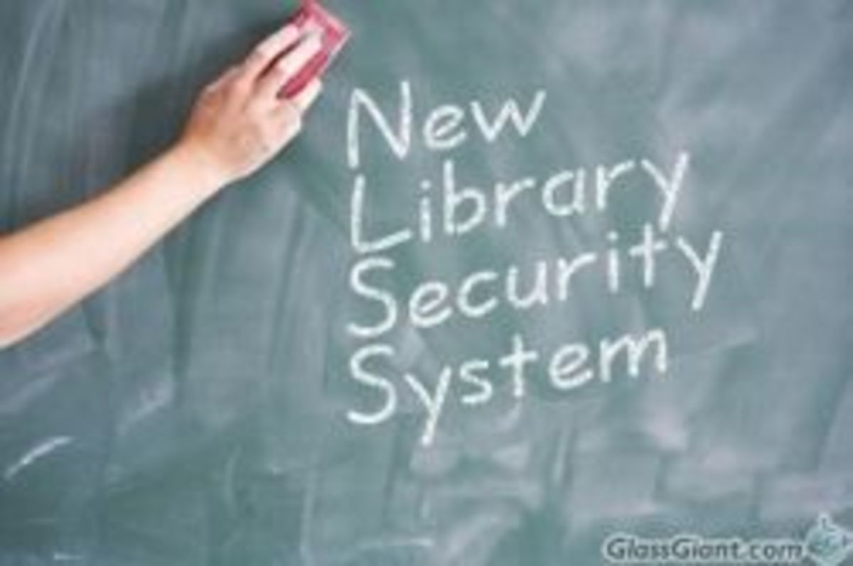 Understanding the library's new security system is difficult for some people.