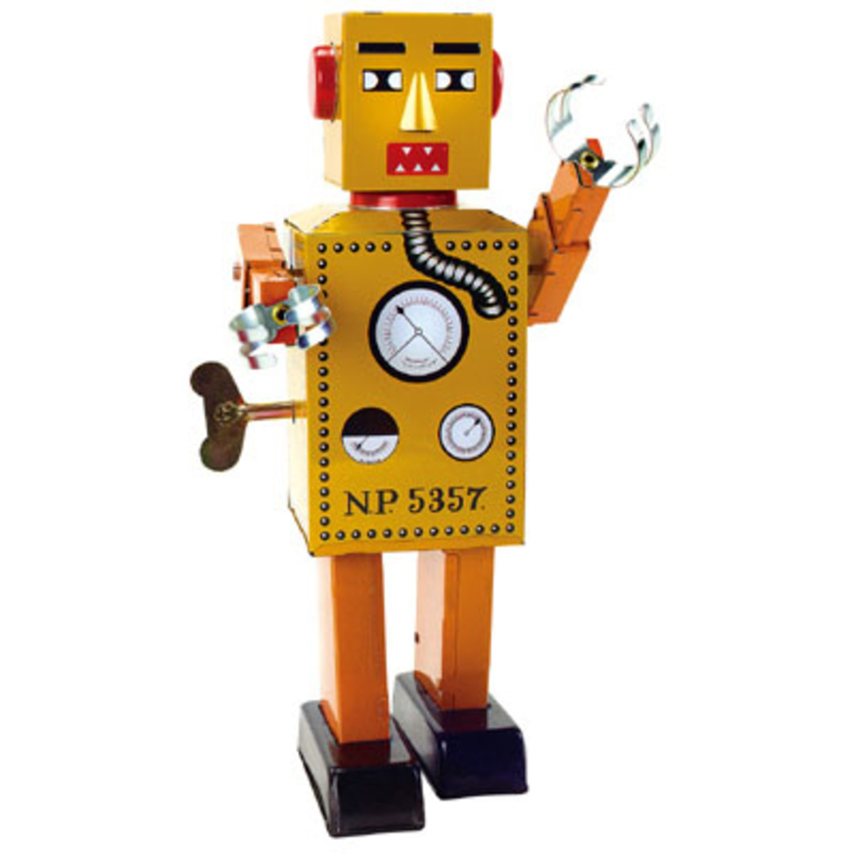 Schylling replica of the first toy robot Lilliput