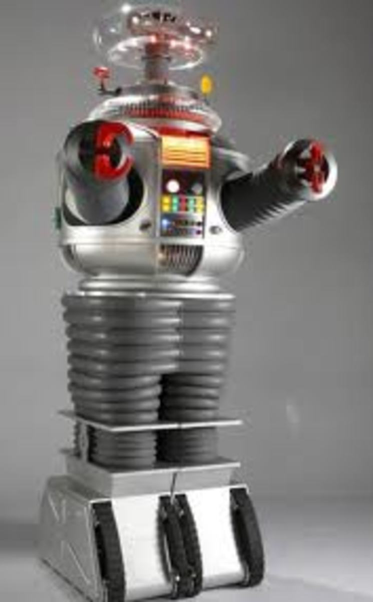 The Robot from Lost in Space. Did he have a name?