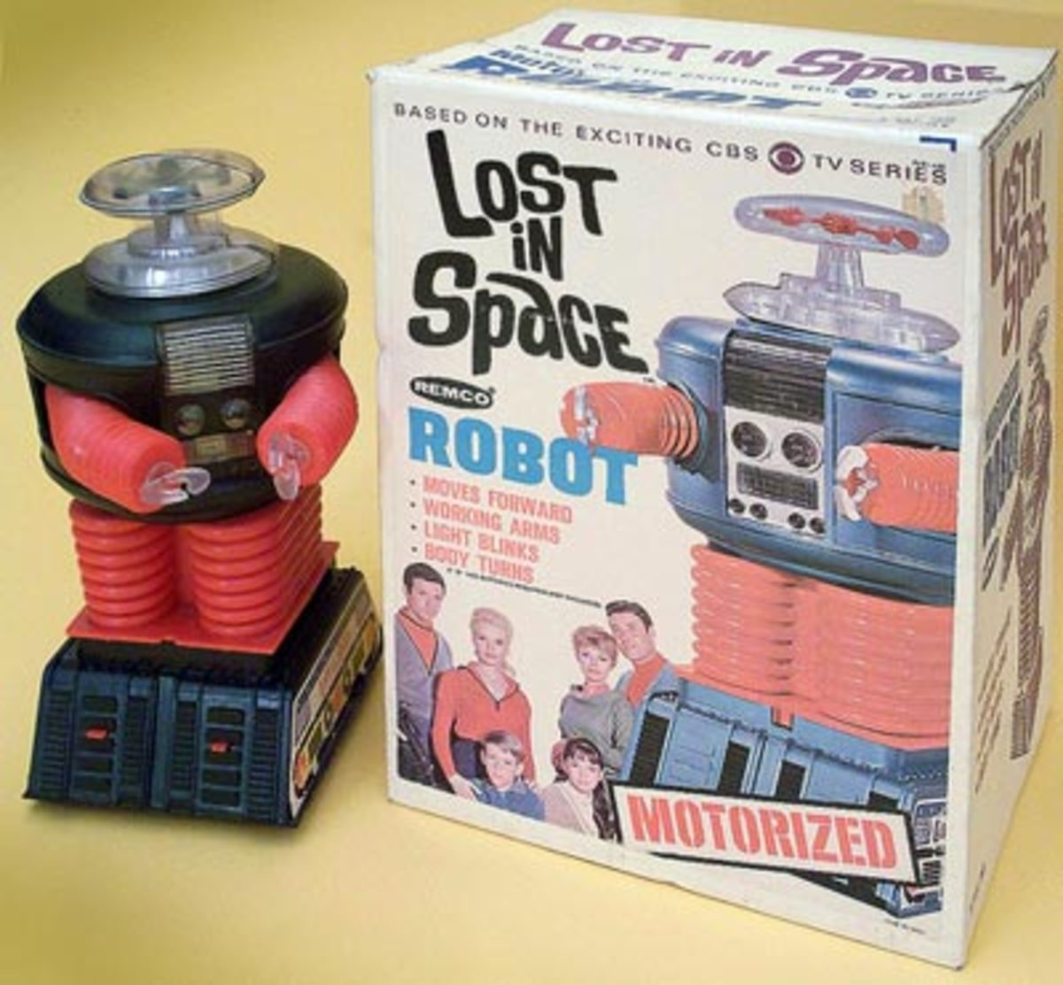 Original Lost in Space robot toy