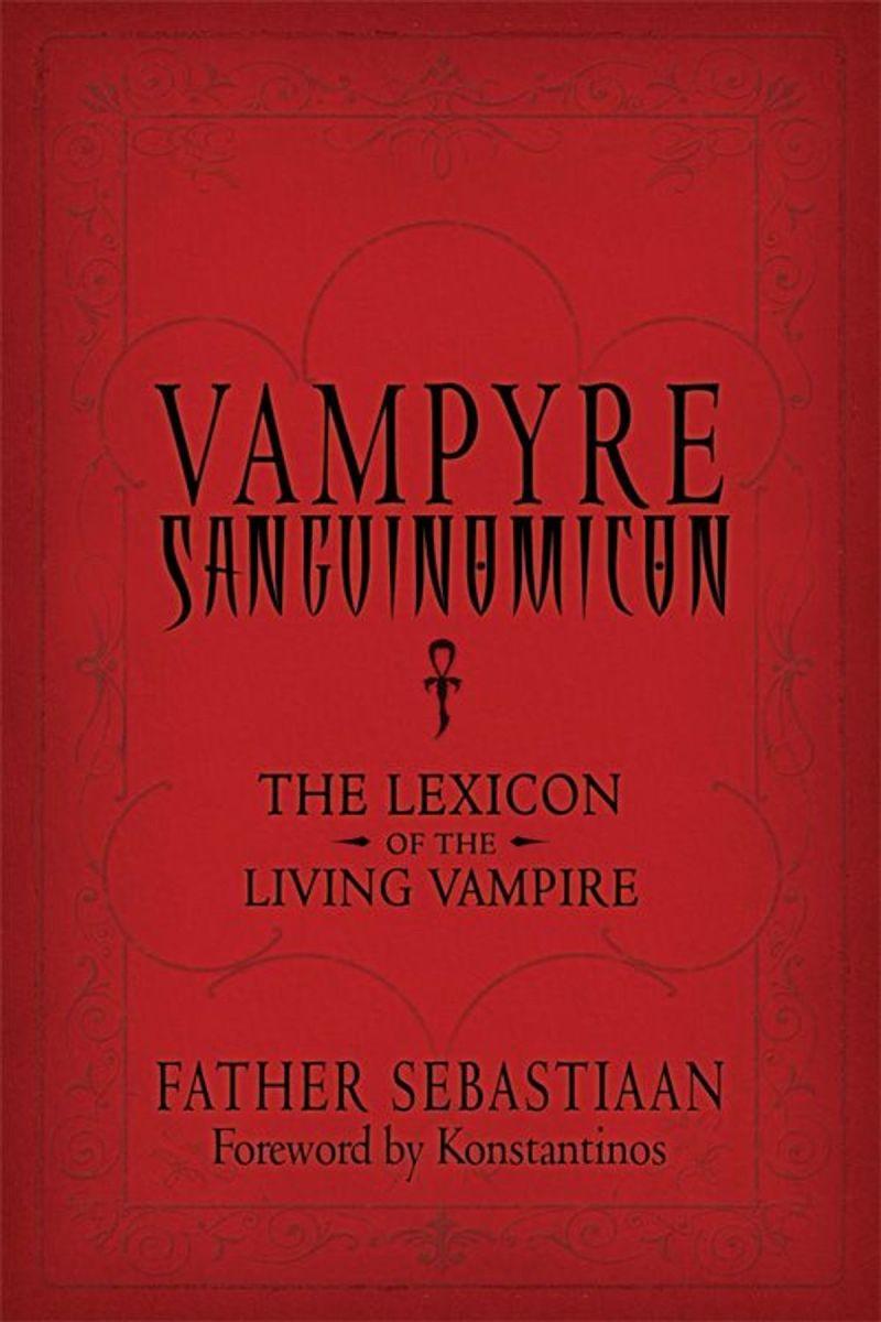 The Vampyre Sanguinomicon