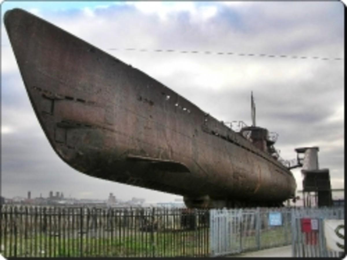U-534 at Birkenhead