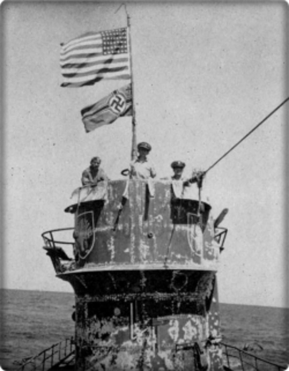 U-505 captured by US Navy in 1944