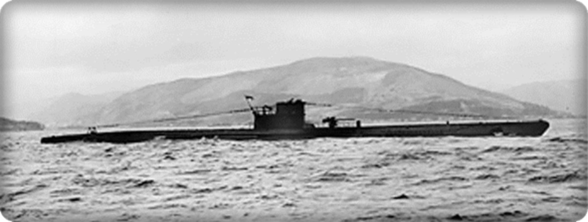 U-570 Captured by the British Royal Navy