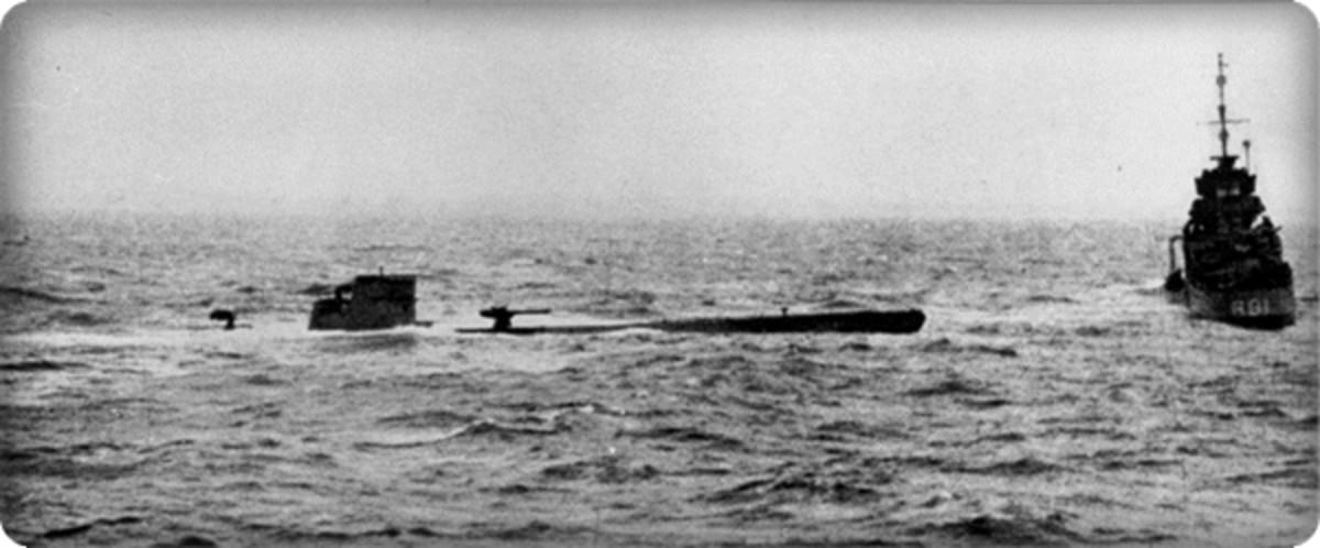 U-110 Capture