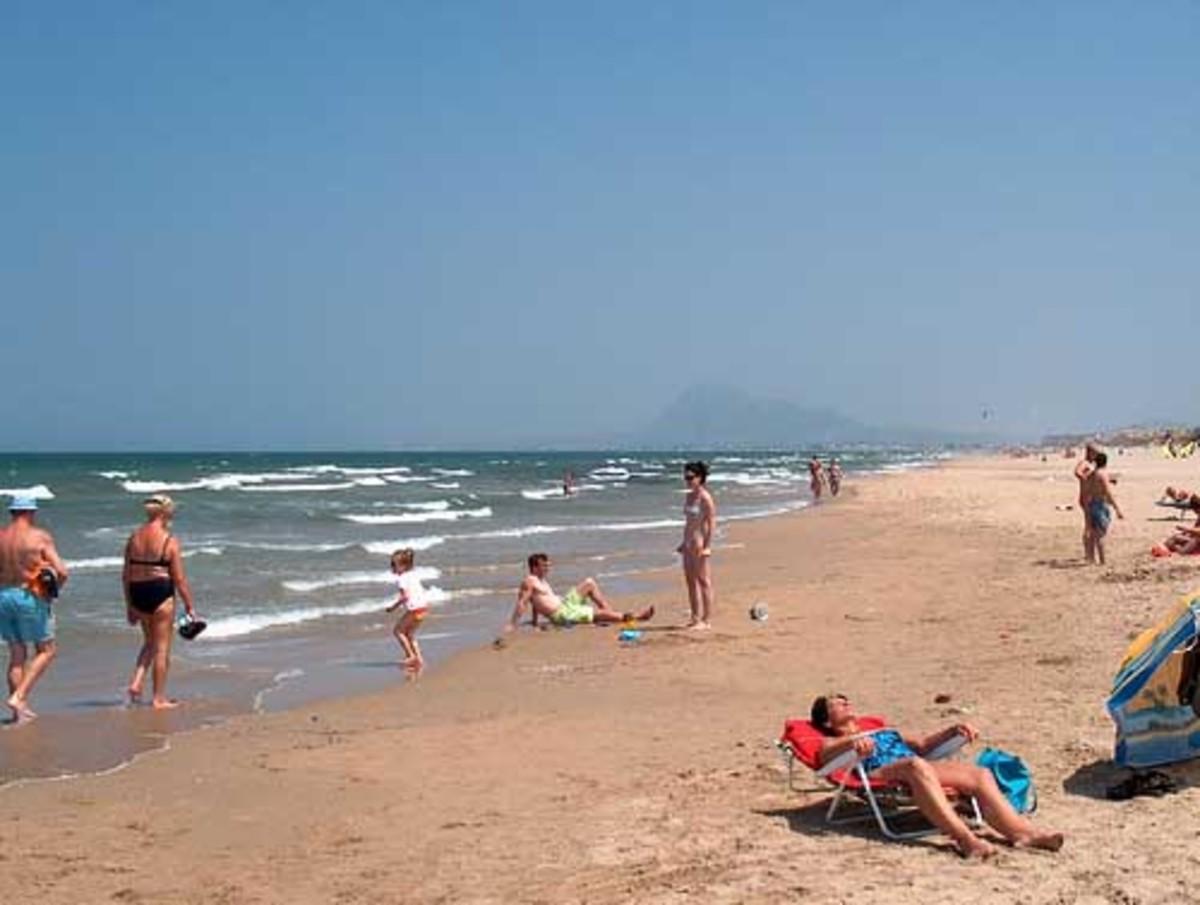 Oliva beach
