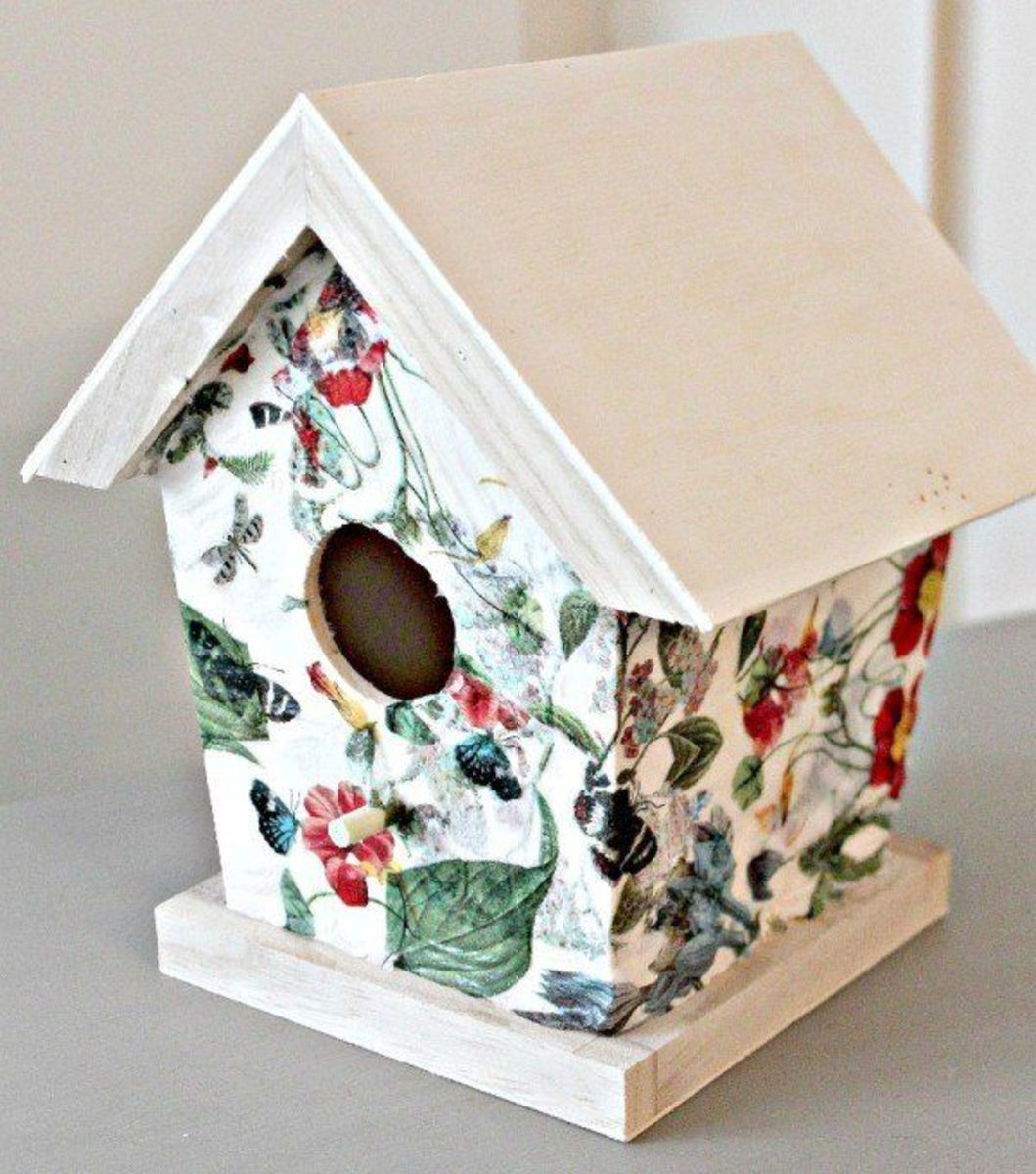 What Is Decoupage Decoupage Arts Amp Crafts Ideas