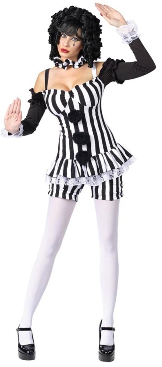 Manic Mime Costume