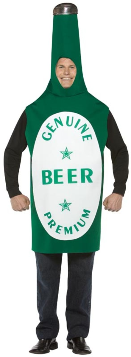 Bottle of Beer Costume